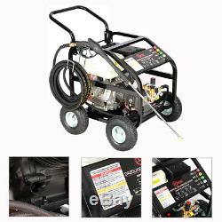 15HP Petrol Power High Pressure Contractor Jet Pressure Washer MAX 4800PSI