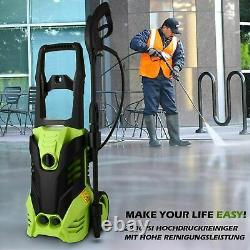 1800With3000PSI Electric Pressure Washer With Spray Gun High Power Jet Wash Car UK