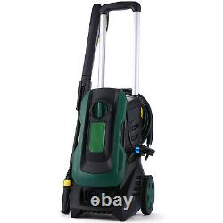 2000PSI /135BAR Electric Pressure Washer High Power Jet Water Wash Patio Car Hot
