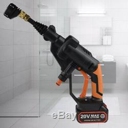 20V 320PSI Portable Pressure Spray Gun Washer Cordless Power Cleaner with Battery