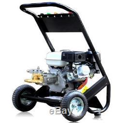 2500PSI Easy Start Petrol Power Pressure Jet Washer Brass Pump With Gun Hose New
