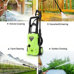 2600PSI/180Bar Electric Pressure Washer Water High Power Jet Wash Patio Car Home