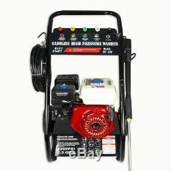 2600PSI 2.3GPM Petrol / Gas Pressure Washer High Power Cleaner Machine 212CC