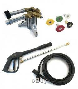 2800 PSI Upgraded AR PRESSURE WASHER PUMP & SPRAY KIT Troy-Bilt 020344 020344-0