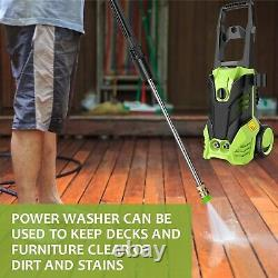 3000PSI/150 BAR Electric Pressure Washer Water High Power Jet Wash Patio Car