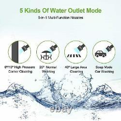3000PSI Electric Pressure Washer Jet Water High Power Car Wash Machine 2000W New