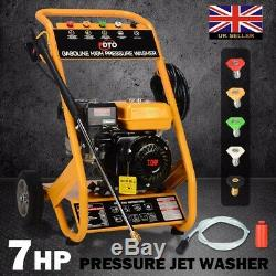 3000PSI Jet Washer 7HP 10 Litre Per Minute Petrol High Power Pressure Jet Washer