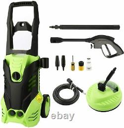 3000/3500PSI Electric Pressure Washer Water High Power Jet Wash Patio Car Green