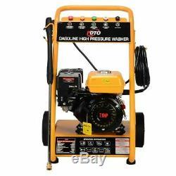 3000 PSI 7HP ELECTRIC START Petrol Power Pressure Jet Washer 10 Litre Per Minute