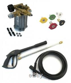 3000 psi PRESSURE WASHER PUMP & SPRAY KIT for John Deere AC-2600GH & AC-2600GS