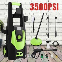 3500PSI Electric High Pressure Power Washer Machine Water Patio Car Jet Wash