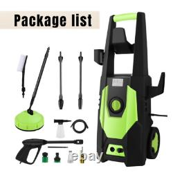 3500PSI Electric High Pressure Power Washer Machine Water Patio Car Jet Wash Top