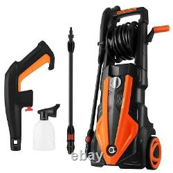 3500PSI Electric Pressure Washer 150 BAR High Power Water Jet Washer Patio Car