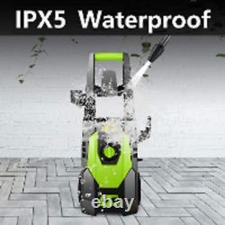 3500 PSI /240Bar Electric High Pressure Power Washer Machine Water Jet Patio Car