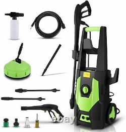 3500 PSI Electric High Pressure Power Washer Machine Water Patio Car Jet Cleaner