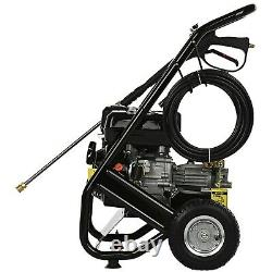 3950PSI Petrol Pressure Washer ELECTRIC START Power Jet 272bar 6.5HP 8M Hose