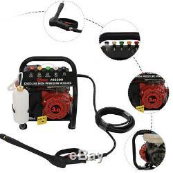 3HP Petrol Pressure Washers 1300PSI Power Jet Wash Machine Car Garden Cleaner UK