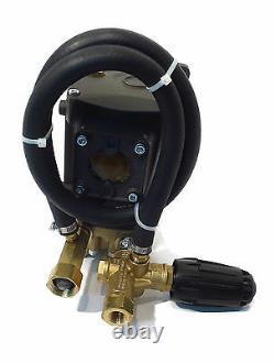 4000 psi AR POWER PRESSURE WASHER PUMP & VRT3 Unloader replaces RKV35G30AD-F24