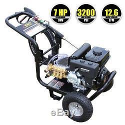 7HP Petrol Pressure Power Jet Washer Kiam KM3200P Cleaner 3200PSI