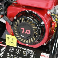 7.0HP 2200PSI PETROL POWER PRESSURE JET WASHER ENGINE WITH GUN 8m HOSE EASY STAR