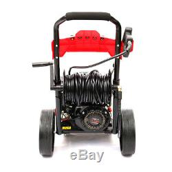 8HP Petrol Pressure Washer Cleaner 20M Hose High Power Straight J Lances 3950PSI
