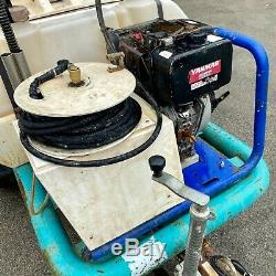Brendon Water Bowser With 3000 Psi Diesel Pressure Power Washer Yanmar Engine
