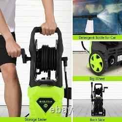 COOCHEER 2600PSI 1600W Electric Pressure Washer High Power Jet Cleaner Patio Car
