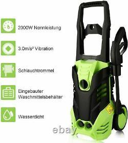 COOCHEER Electric Pressure Washer 3000psi Water Power Sprayer High Power Clean