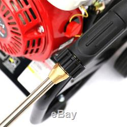 Cleaning 3950 PSI 8 HP Petrol Pressure Washer Cleaner High Jet Power INDEPENDENT