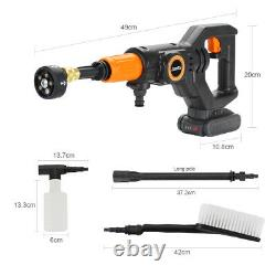 Cordless Pressure Washer Power Cleaner 320PSI with 2.0A Battery & Charger Portable