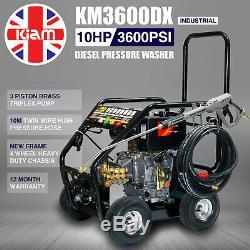 Diesel Pressure Washer £10/WEEK on LEASE Kiam KM3600DX 3600PSI Power Cleaner