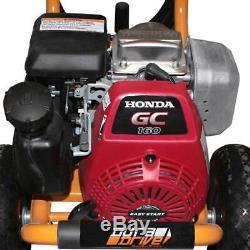 DuraDrive PWGH-2700 2700 PSI Honda Engine Gas-Powered Pressure Washer