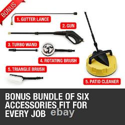 Electric High Power Pressure Washer 3800PSI Power Jet Wash Patio Car Cleaner