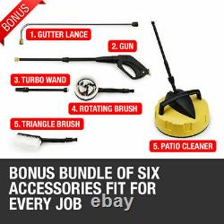 Electric High Power Pressure Washer 3800PSI Power Wash Patio Car Cleaner UK