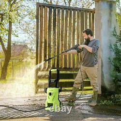 Electric Pressure Washer 1520PSI/120Bar High Power Washer Jet Wash Home Car UK