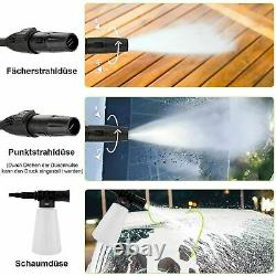 Electric Pressure Washer 1520PSI/1400W High Power 120Bar Jet Cleaner Home&Paito