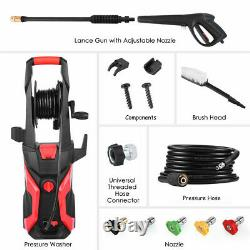 Electric Pressure Washer 2400 PSI/165 BAR Water High Power Jet Wash Patio Car
