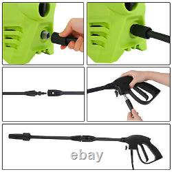 Electric Pressure Washer 2500PSI 1600W High Power 135 bar Jet Cleaner Patio Car