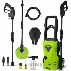 Electric Pressure Washer 2600PSI 1650W High Power 135 bar Jet Car Patio Cleaner