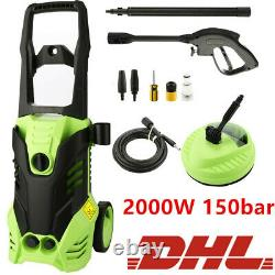 Electric Pressure Washer 3000PSI/150 BAR Water High Power Jet Wash Patio Car New