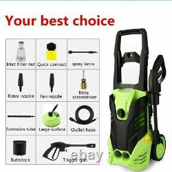 Electric Pressure Washer 3000PSI/150 BAR Water High Power Jet Wash Patio Car UK