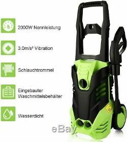 Electric Pressure Washer 3000PSI/1.7GPM Water High Power Jet Wash Patio Car DHL