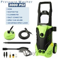 Electric Pressure Washer 3000 PSI/150 BAR Water High Power Jet Wash Patio 2000W