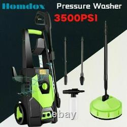 Electric Pressure Washer 3500PSI 150 Bar Water High Power Jet Wash Patio Car UK