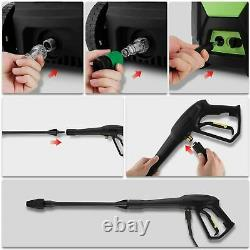 Electric Pressure Washer 3500PSI 1800W Washer High Power 150Bar Jet Cleaner Car