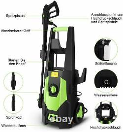 Electric Pressure Washer 3500PSI Water High Power Jet Wash Patio Car Cleaner UK