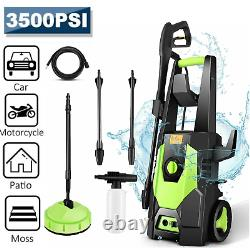 Electric Pressure Washer 3500PSI Water Strong Power Jet Wash Patio Car 1800W UK