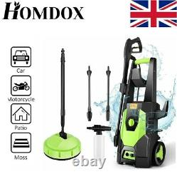 Electric Pressure Washer 3500 PSI/150BAR Water High Power Jet Wash Patio Cleaner