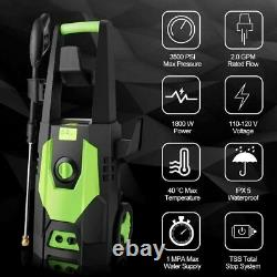 Electric Pressure Washer 3500 PSI/150 BAR Water High Power Jet Wash Patio Car UK