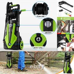 Electric Pressure Washer 3500 PSI/1900W Water High Power Jet Wash Patio Car UK